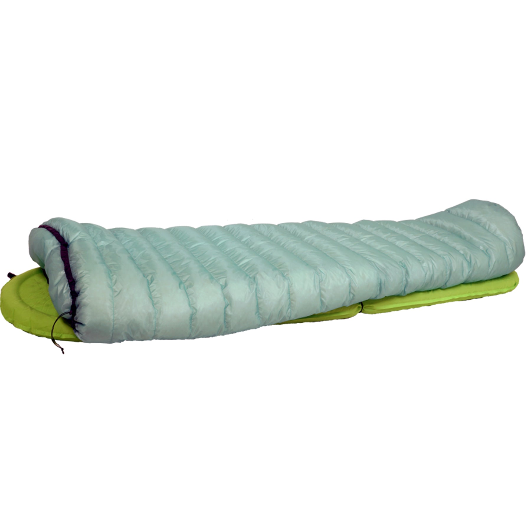 ASTRALITE SLEEPING BAG ATTACHED TO A SLEEPING PAD