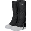 the outdoor research verglas gaiter in black