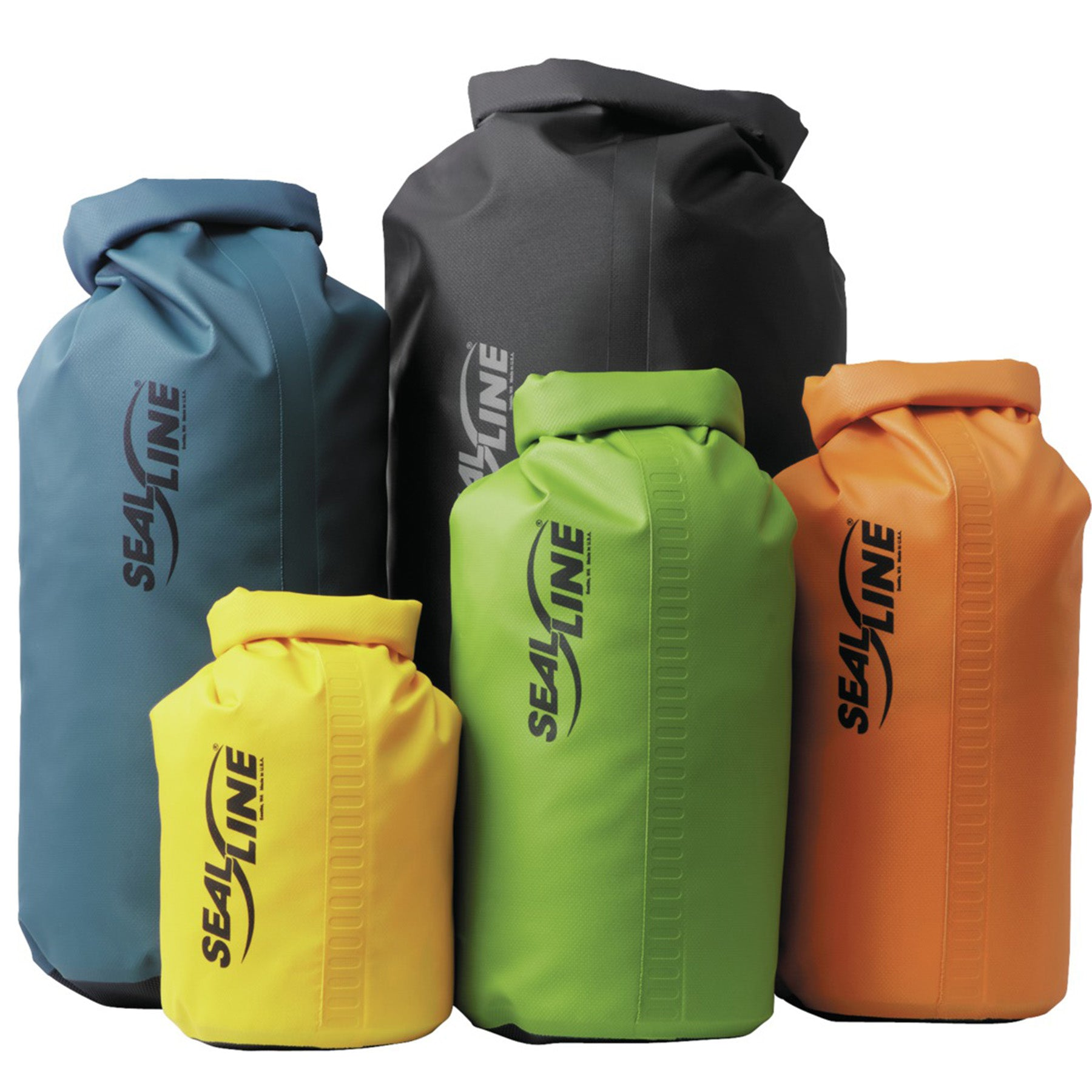 the collection of the sealline baja dry bags