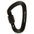 a photo of the metolius locking bravo carabiner, in black