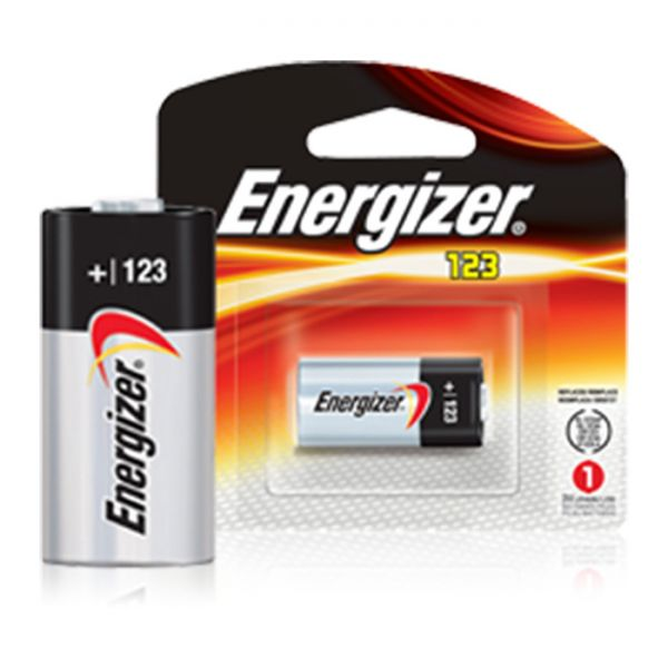 energizer cr123 3-volt battery
