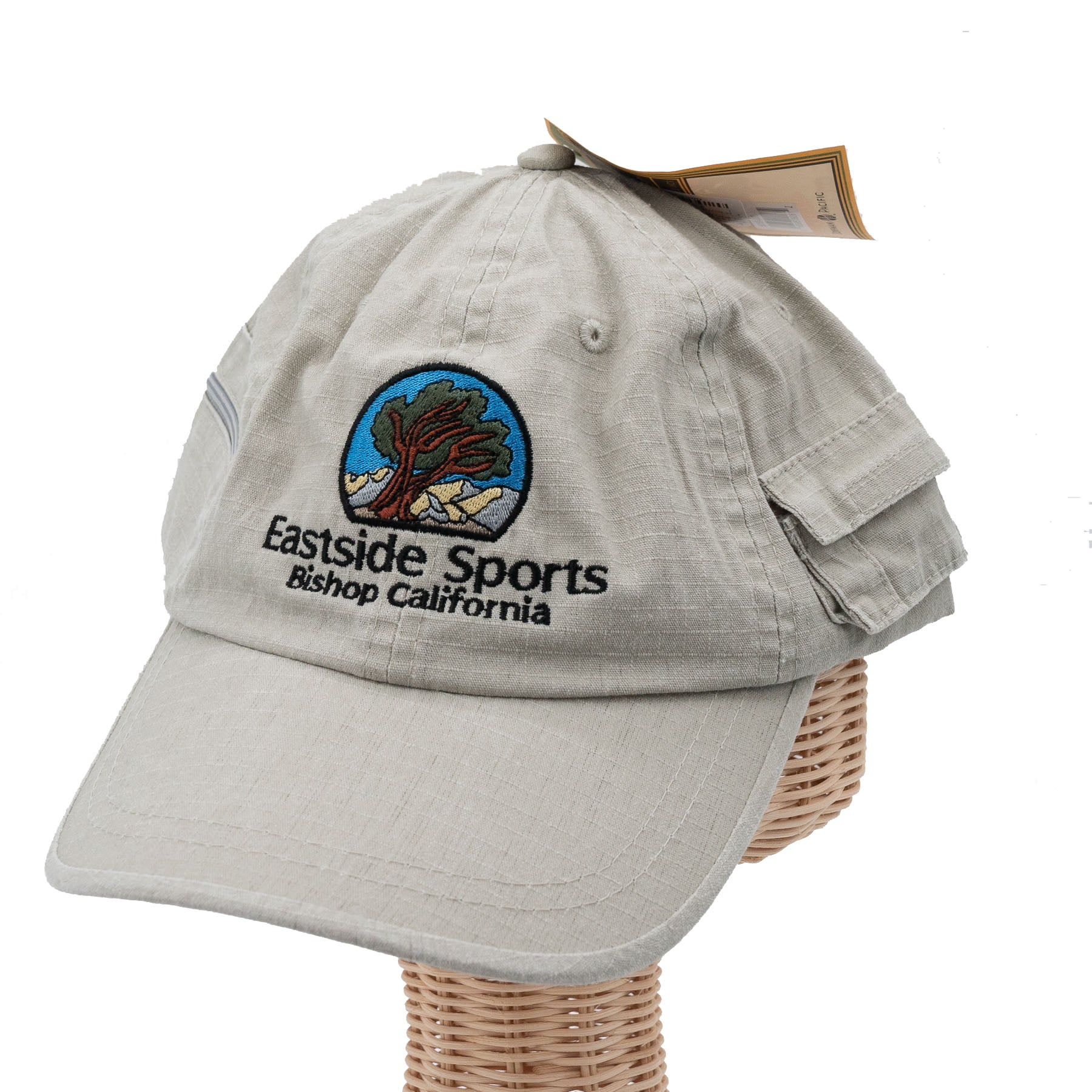 the front of the stone color hat