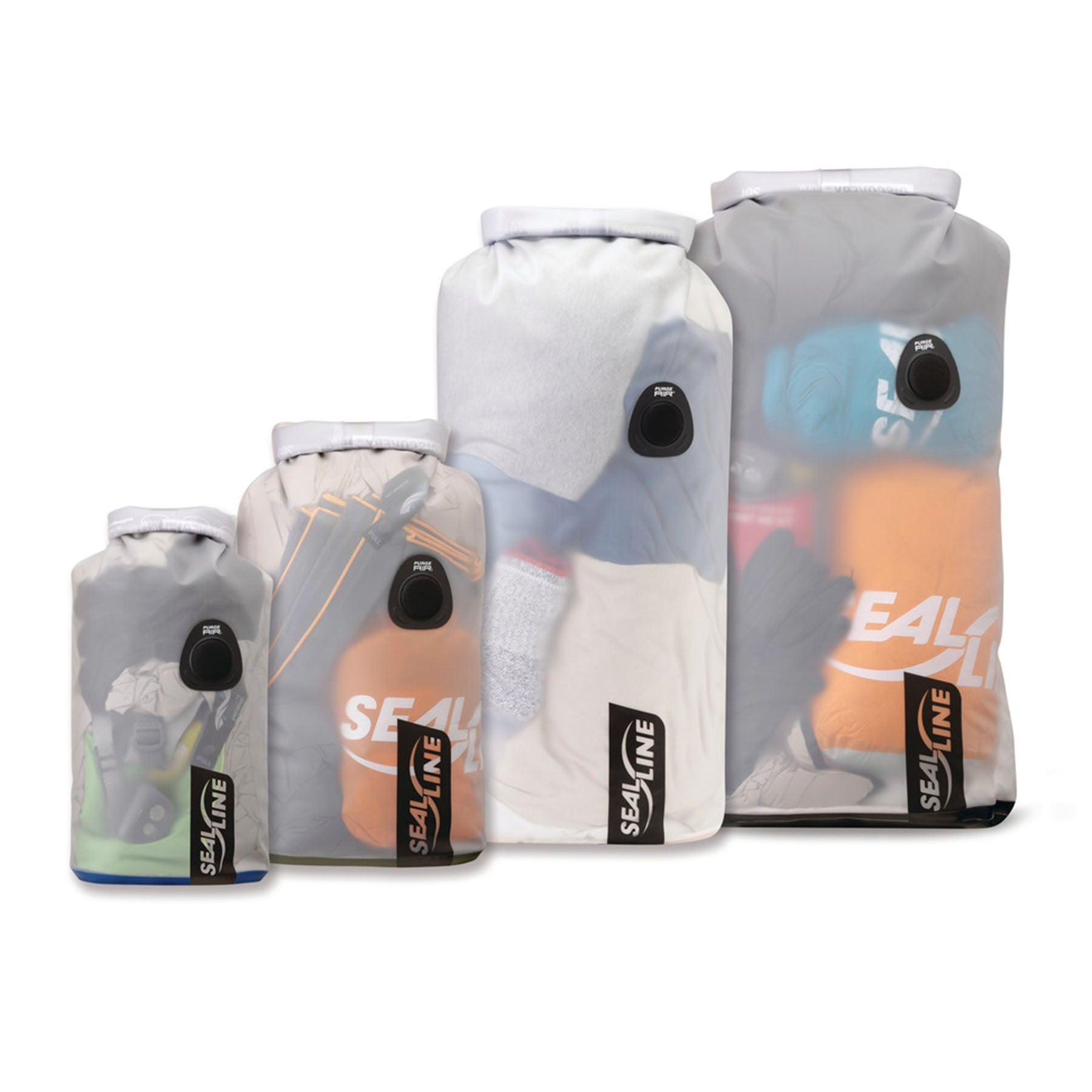 The full line of discovery dry bags