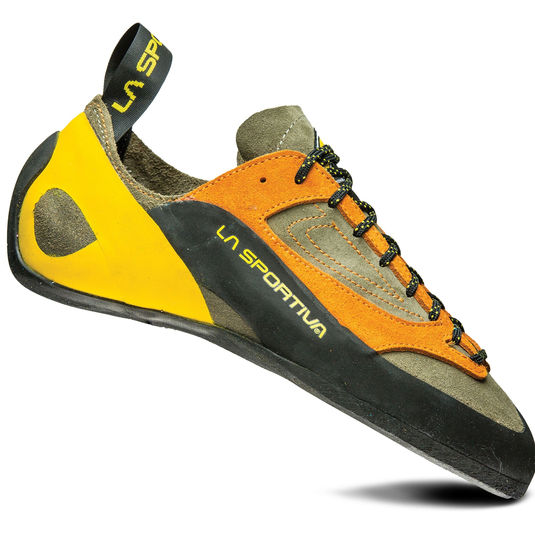 side view of the men's finale rock climbing shoe