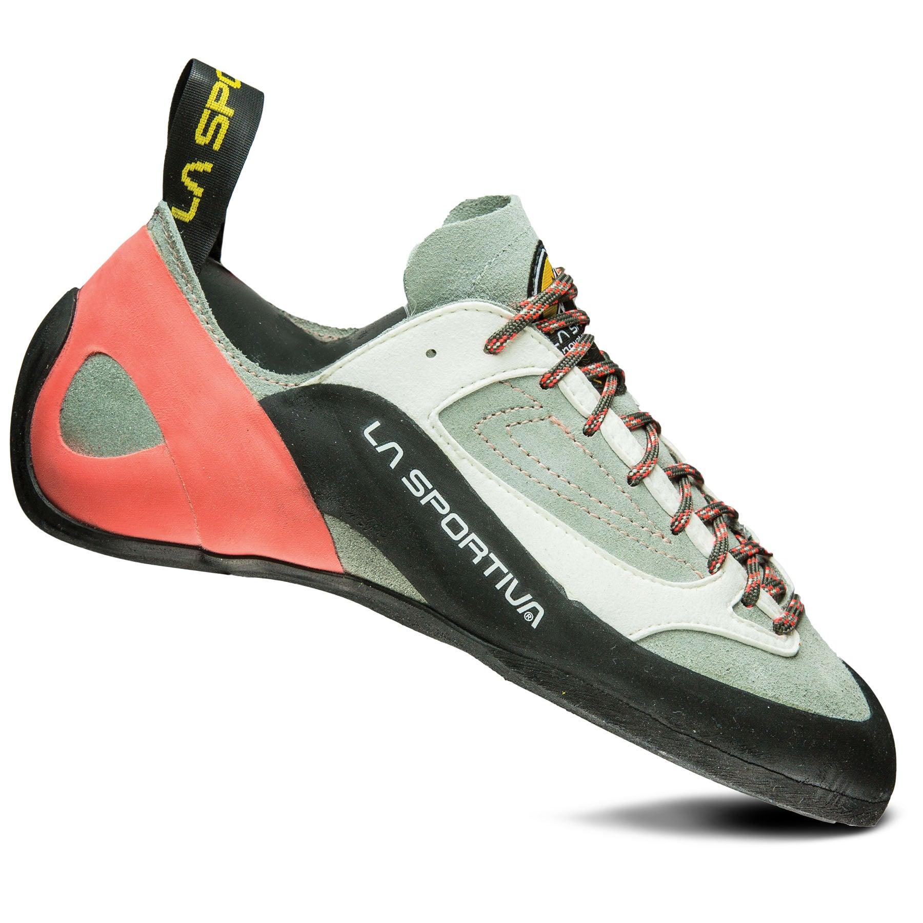 side view of the women's finale rock climbing shoe