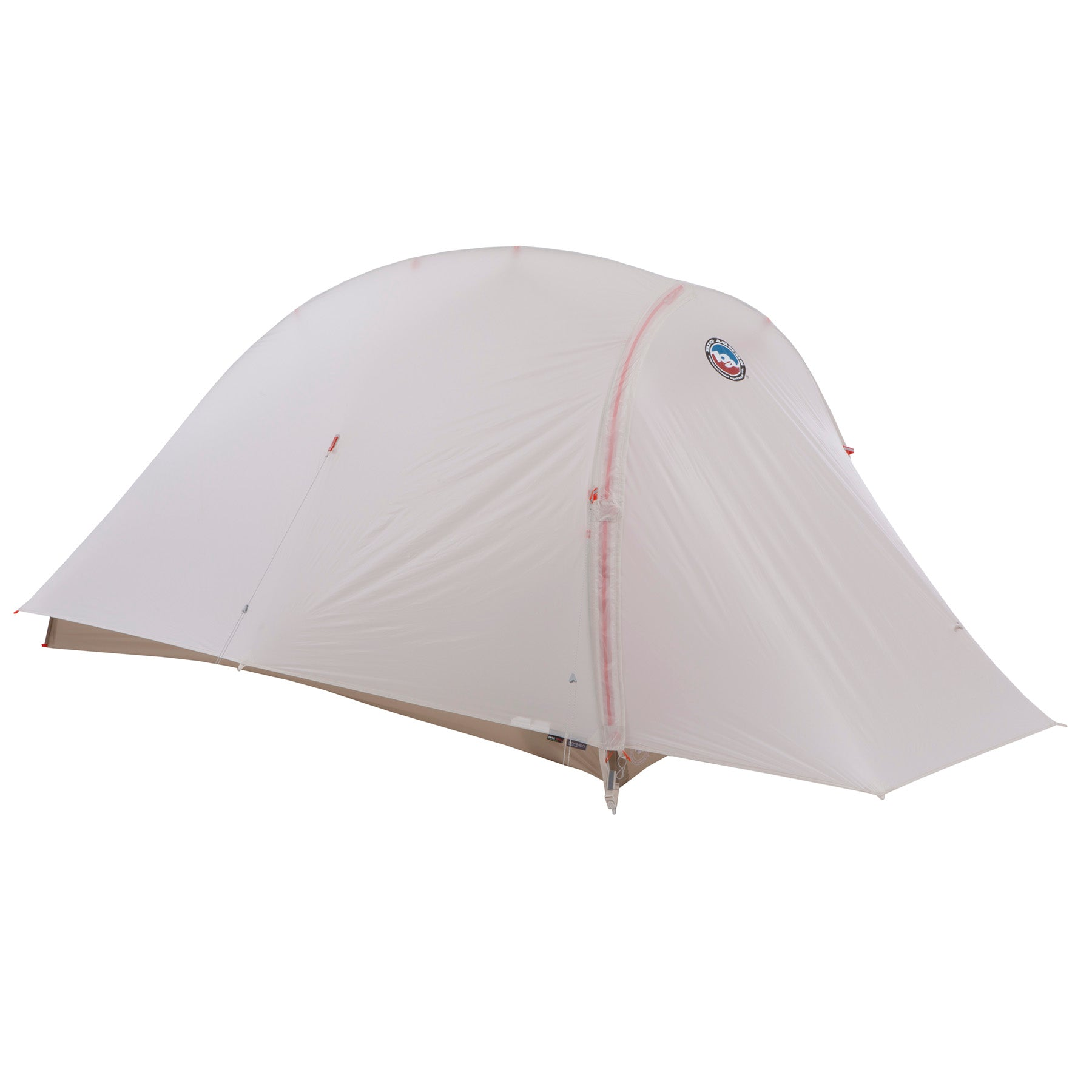 the big agnes fly creek HV UL 1 solution dye tent with fly on and door zipped