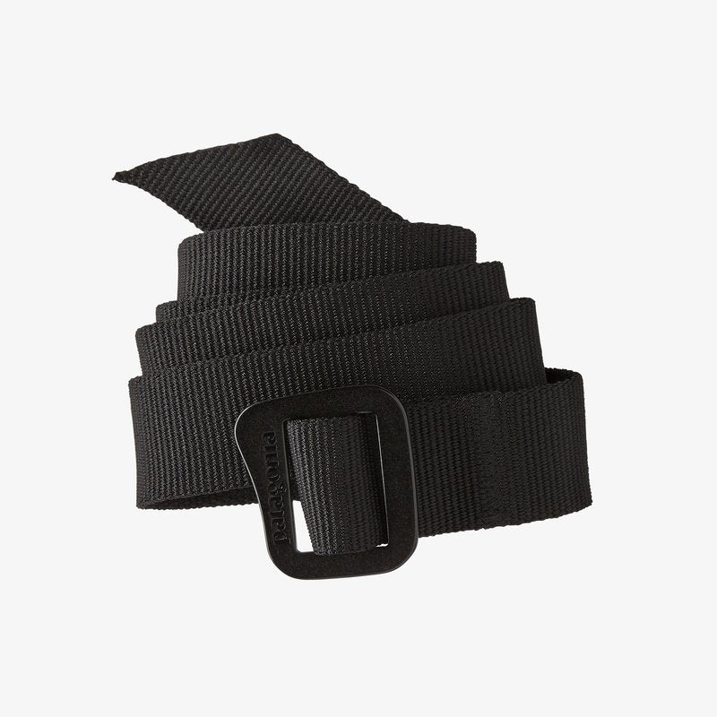 a coiled black friction belt