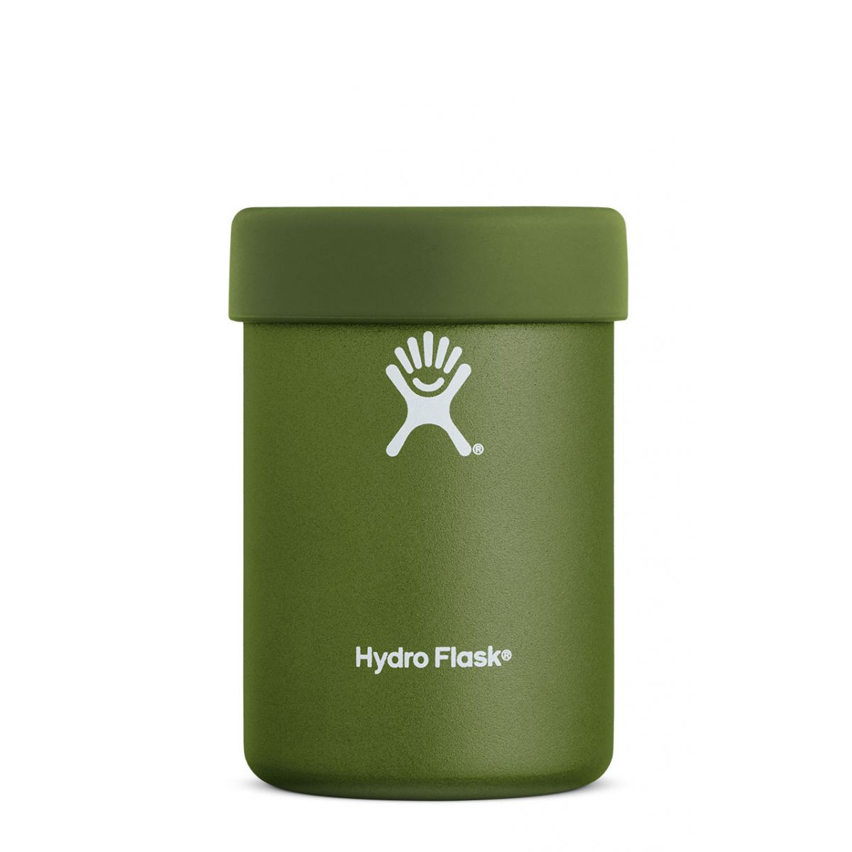 hydro flask insulated 12 oz cooler cup in olive