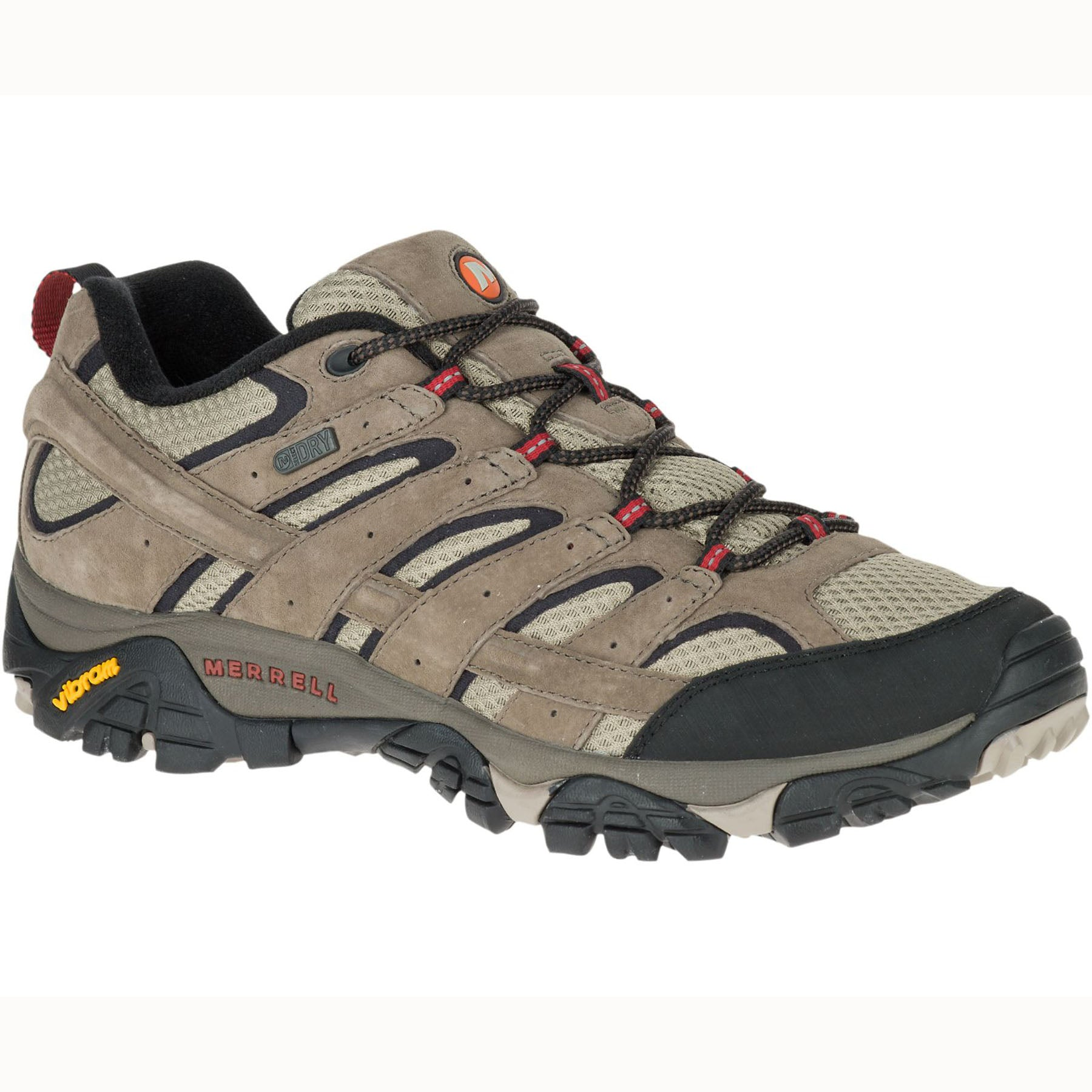 side view of the moab 2 waterproof men's shoe