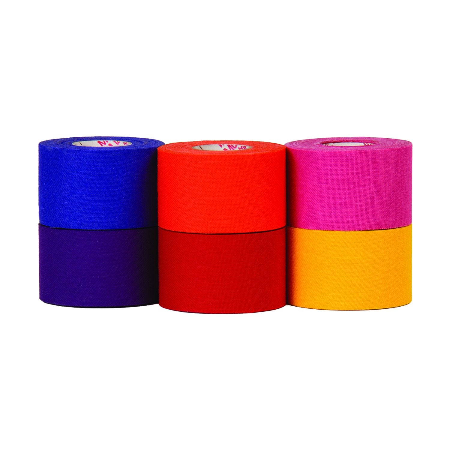a photo of all the colors of trango's M tape