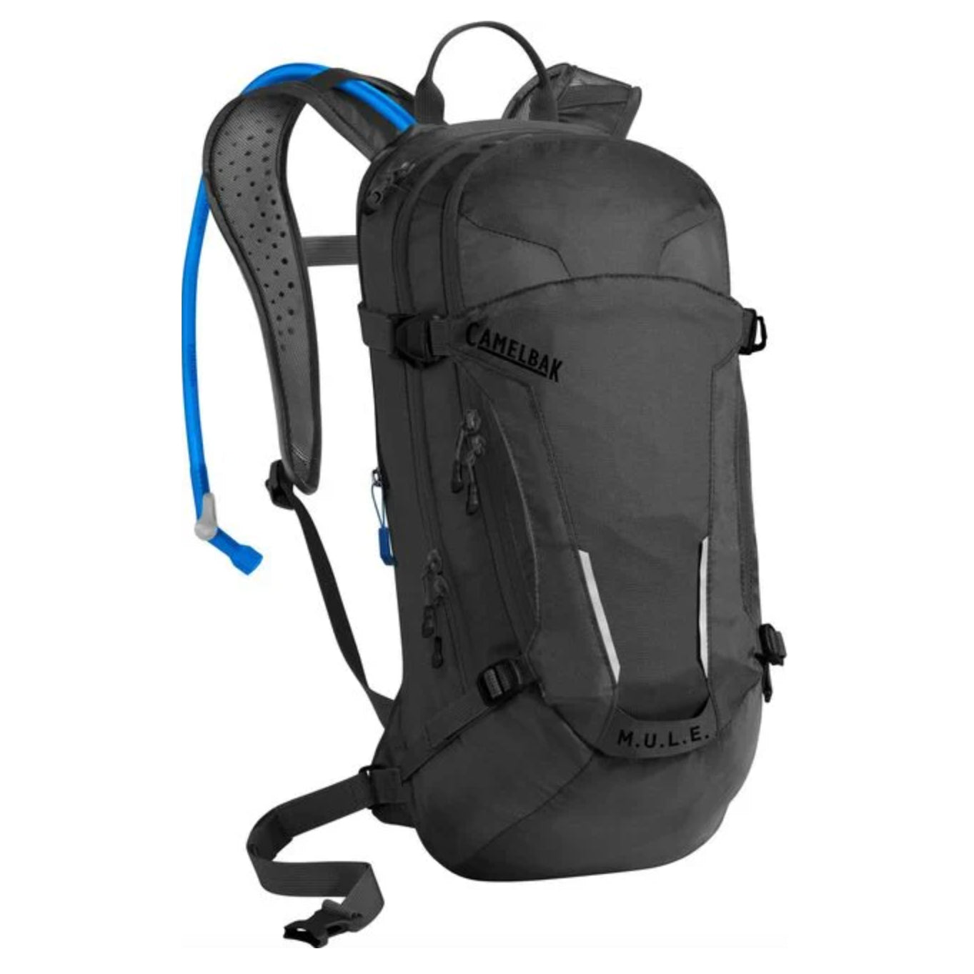 MULE 100oz hydration pack front view black