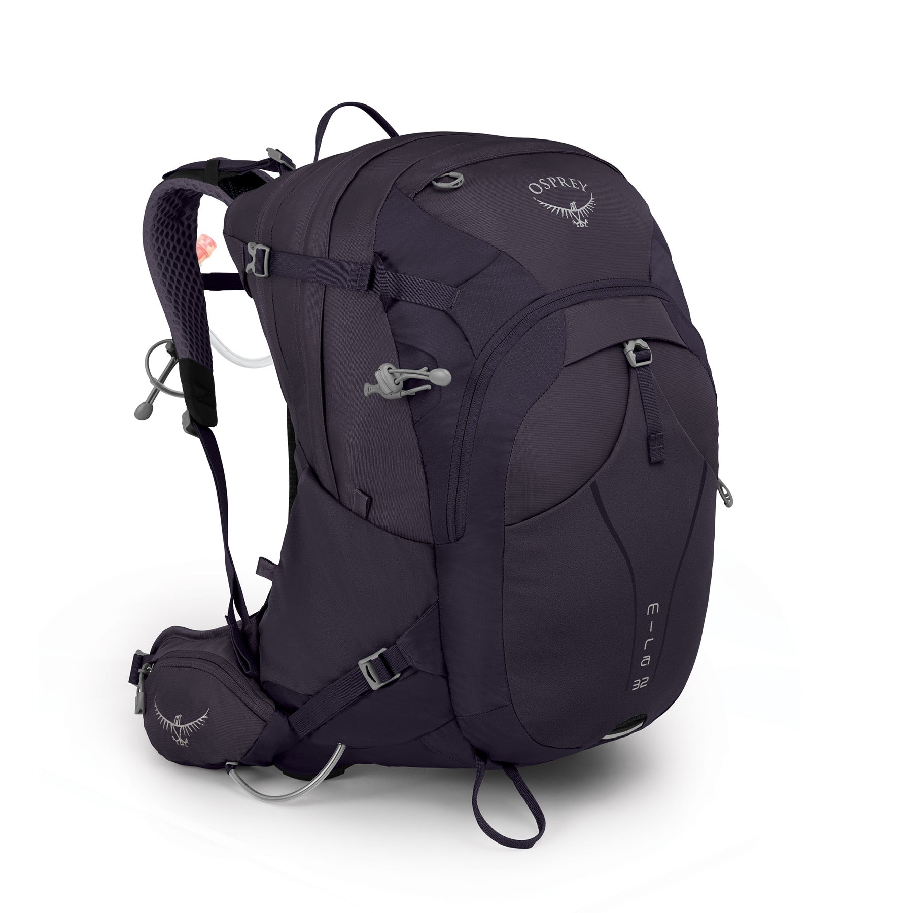 a black hydration pack