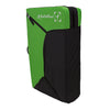 a photo of the metolius session II bouldering pad, in green, folder