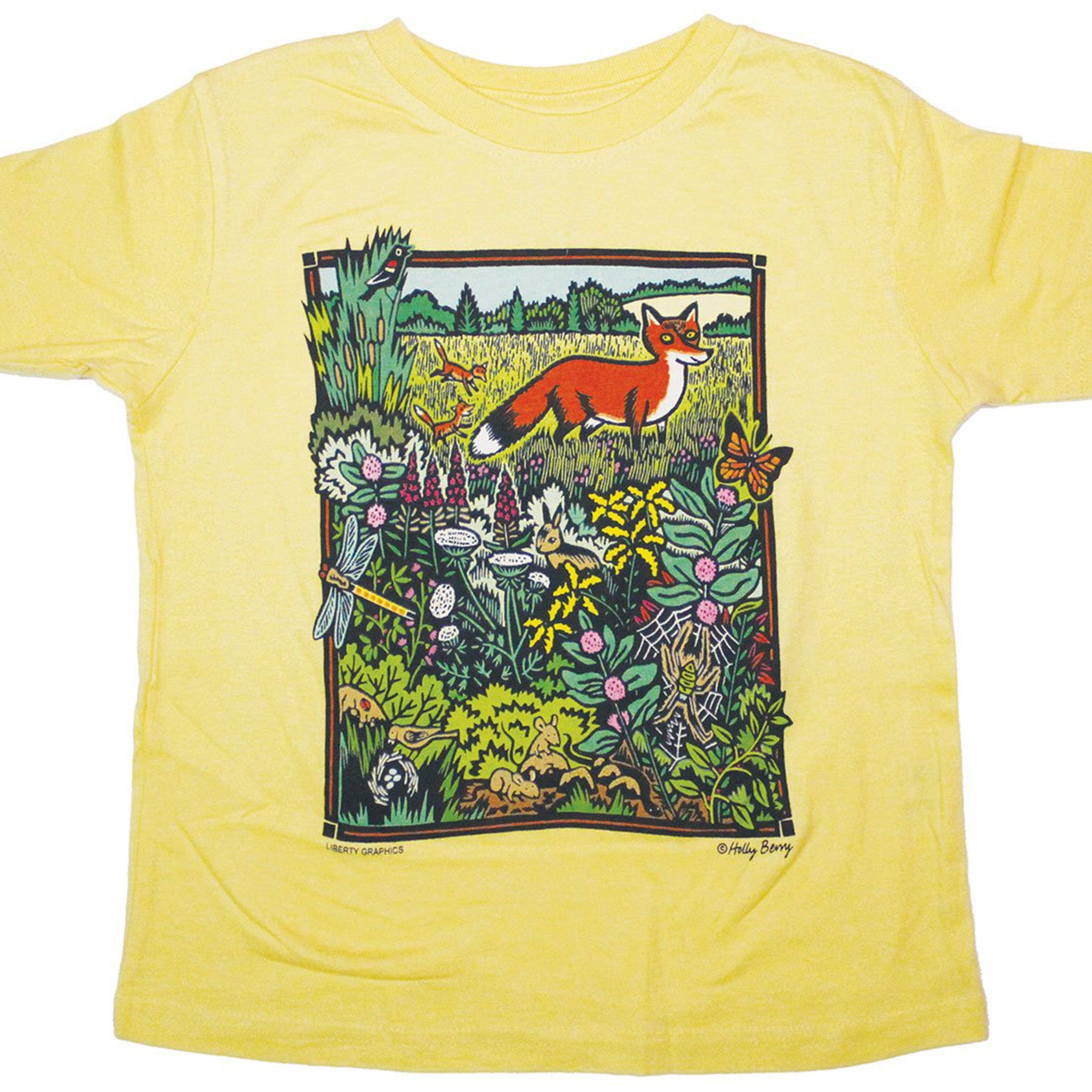 toddler meadow print
