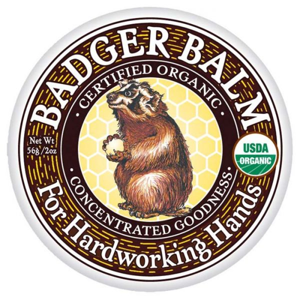 badger healing balm in 2oz tin.