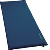 an inflated basecamp thermarest sleeping pad