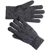 a pair of smartwool cozy gloves in black