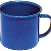blue enamelware cup 24oz blue