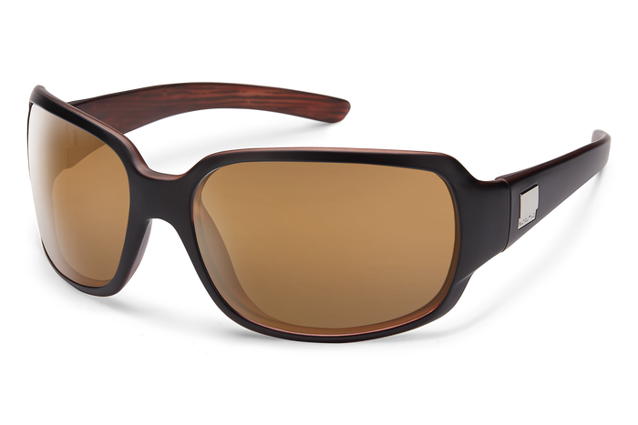 suncloud cookie matte black with polarized sienna mirror lenses