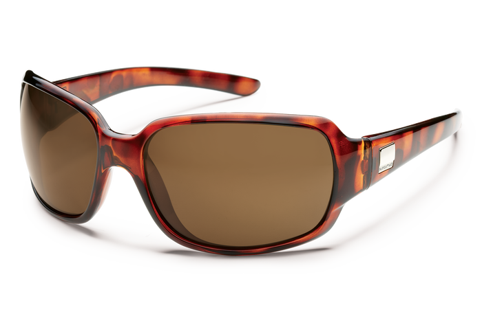 suncloud cookie tortoise with brown lenses