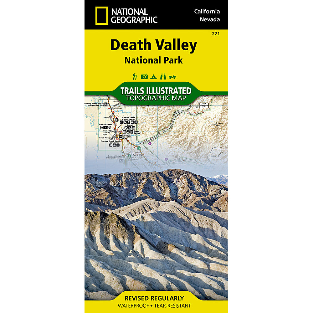national geographic maps death valley