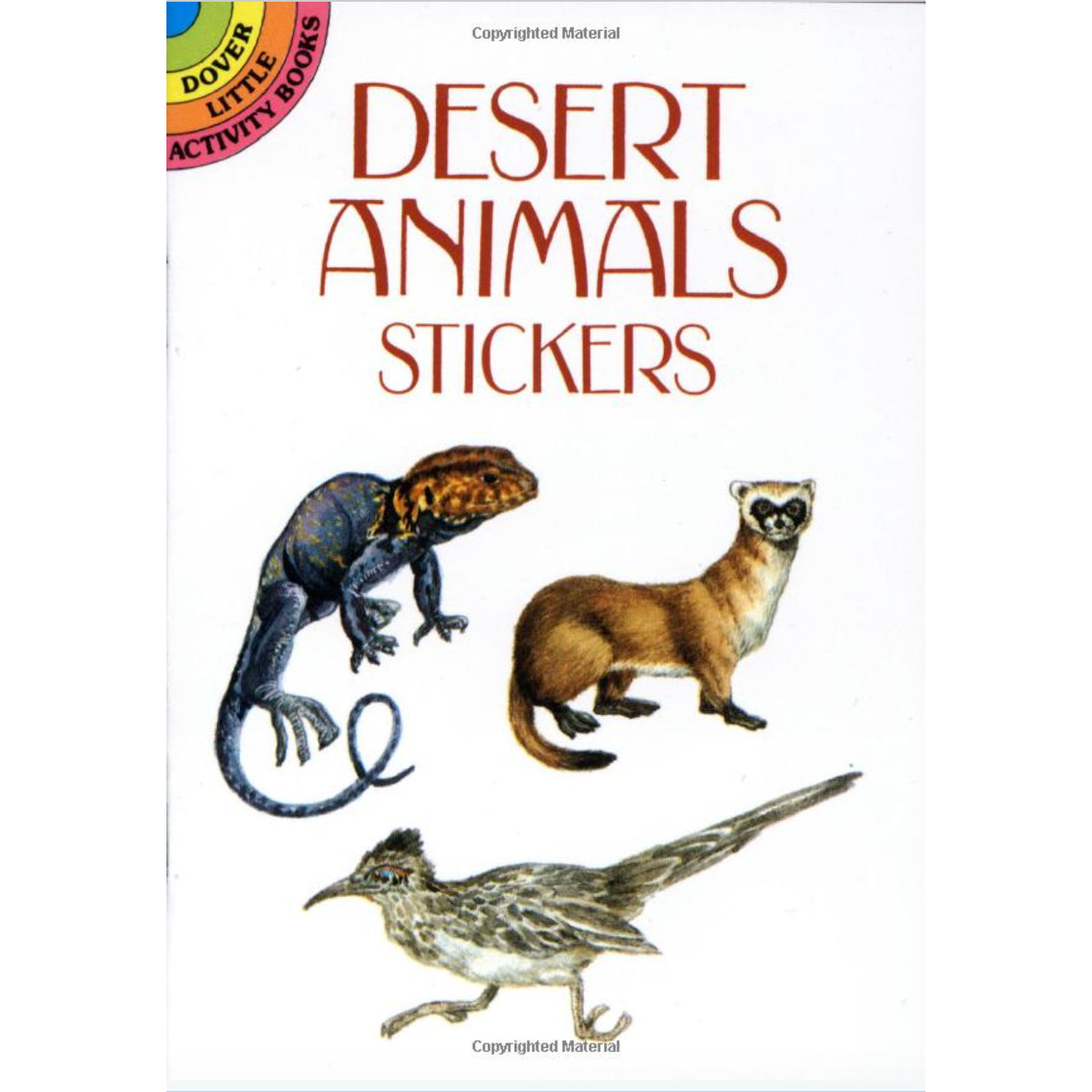 desert animal stickers