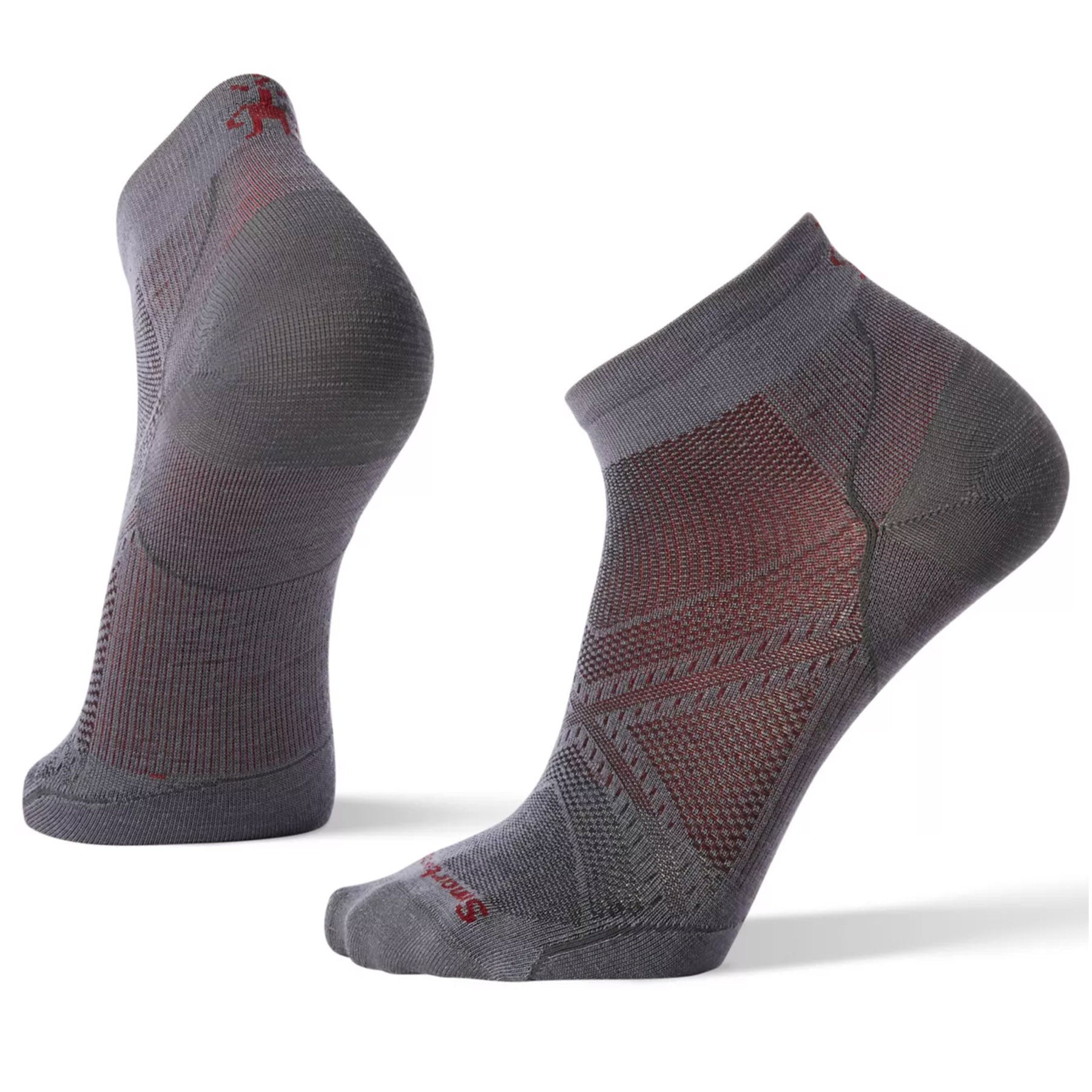 Men's PhD® Run Ultra Light Low Cut Socks in graphite