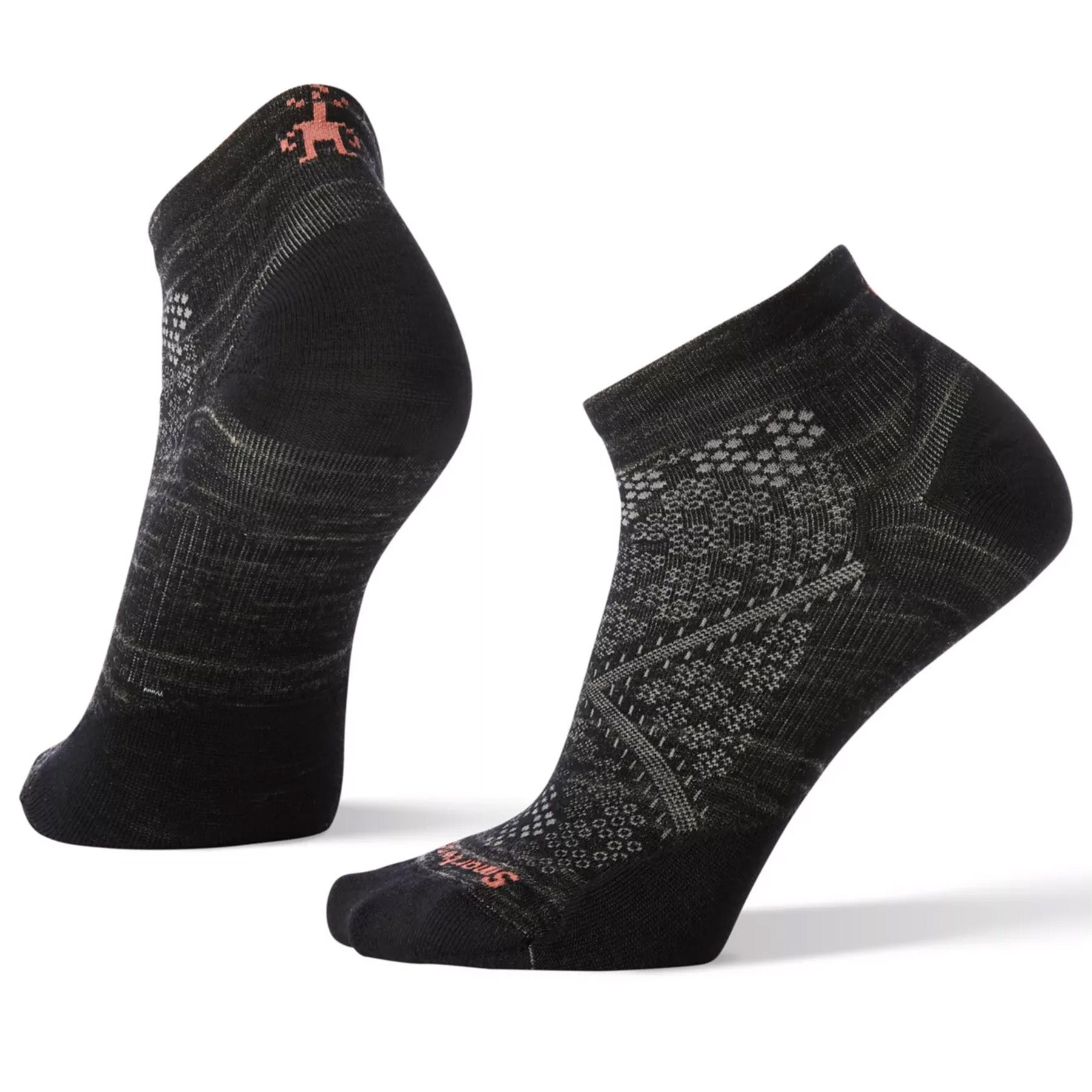 Women's PhD® Run Ultra Light Low Cut Socks in black