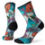 Women's PhD® Pro Endurance Print  Crew Socks in capri