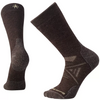 a pair of men's medium crew socks in chestnut