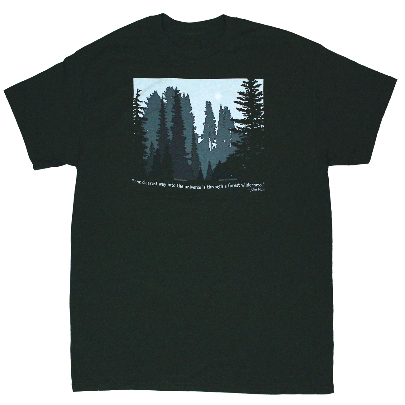 forest muir quote tee shirt