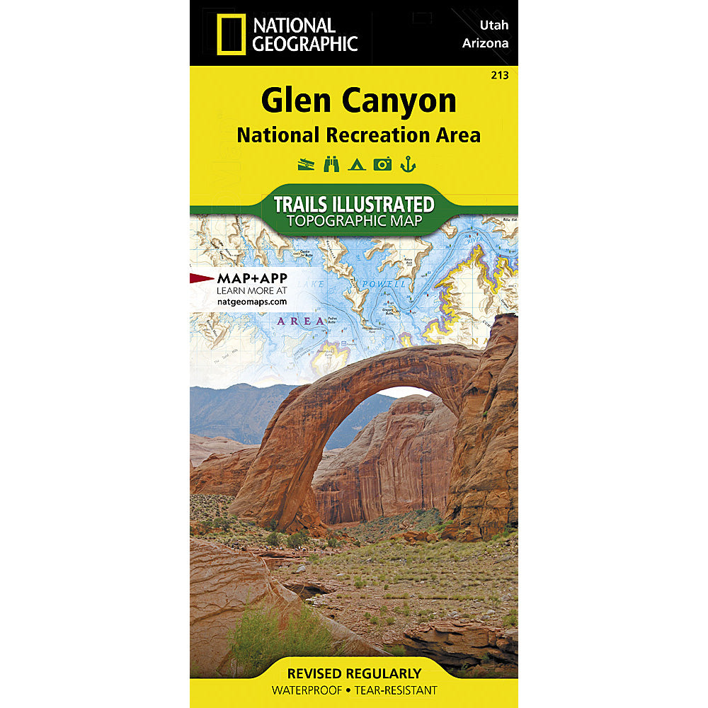 national geographic maps glen canyon