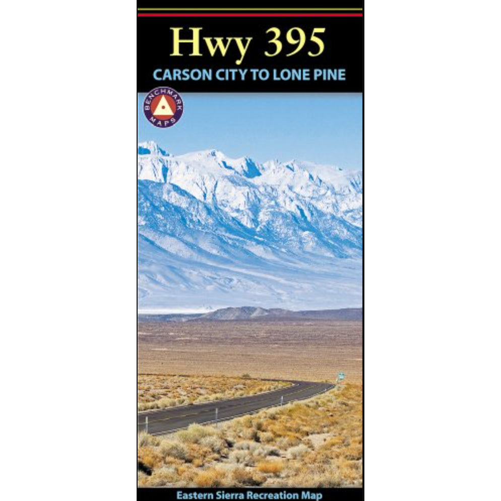 hwy 395: carson city to lone pine map