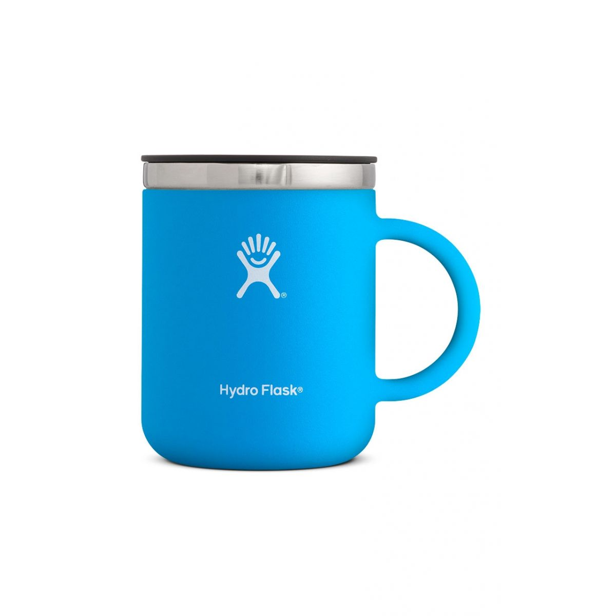 hydro flask 12 oz coffee mug in pacific