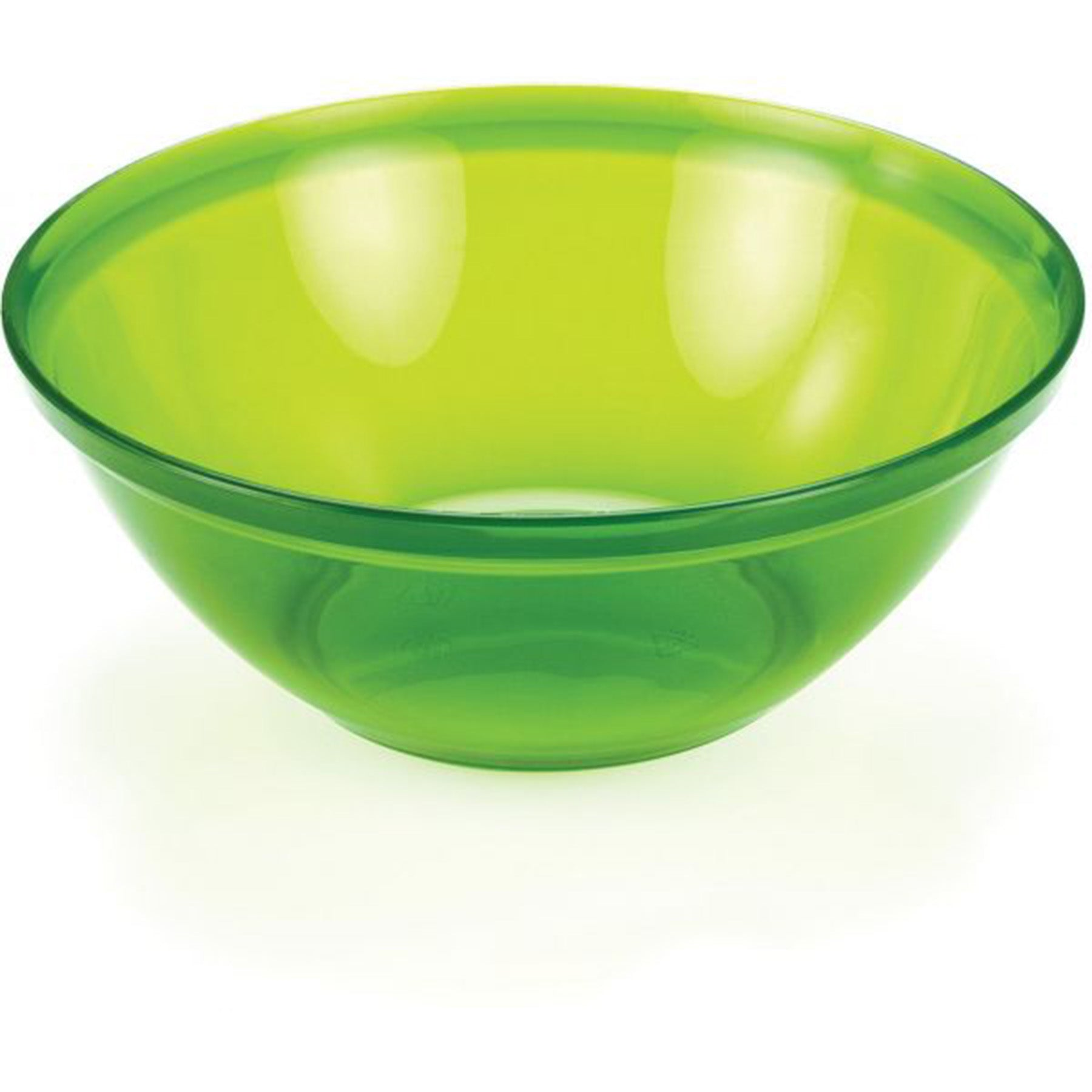 close up of the green lexan infinity bowl