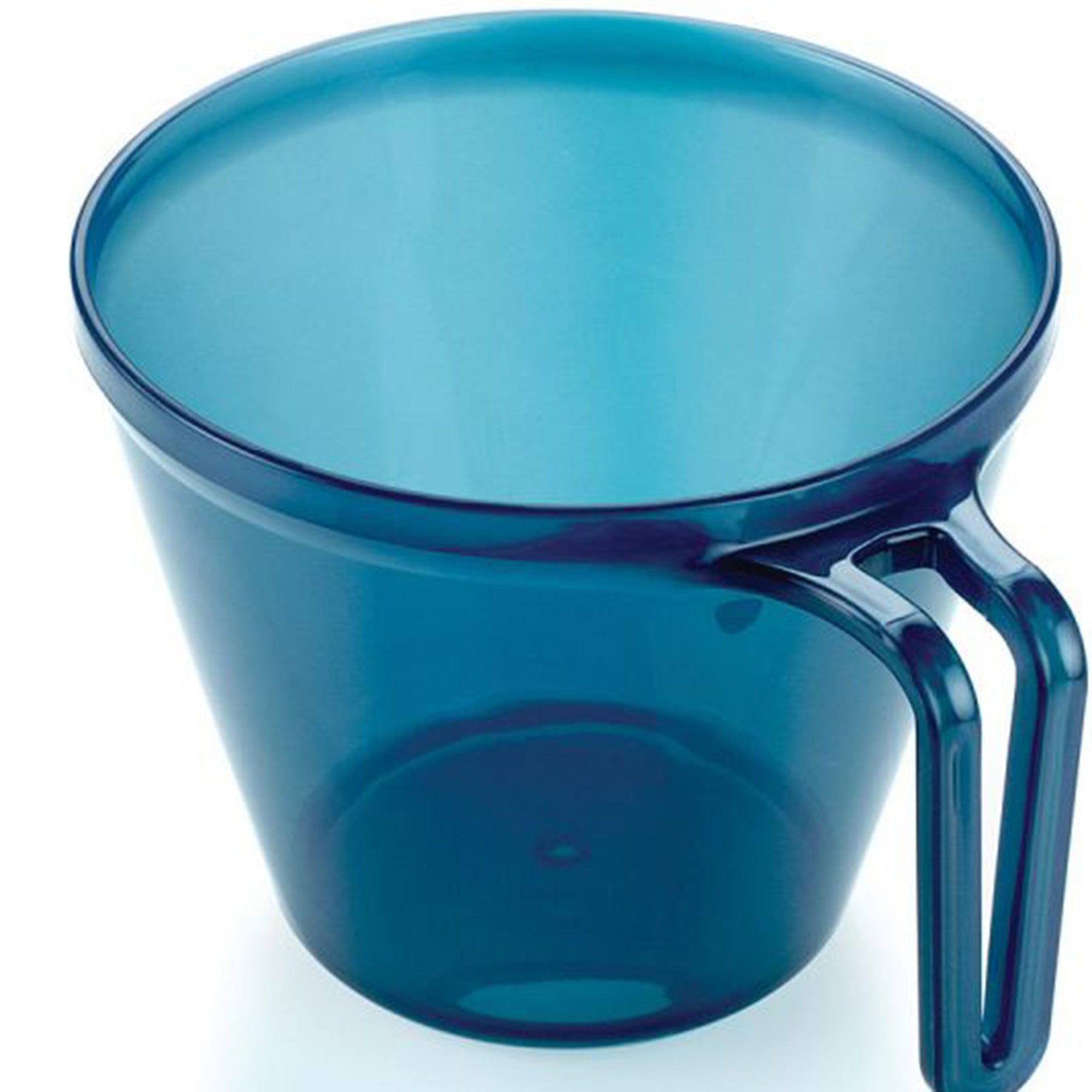 infinity polycarbonate outdoor mug 12oz. blue