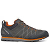 side view of the men's crux approach shoe in shark grey