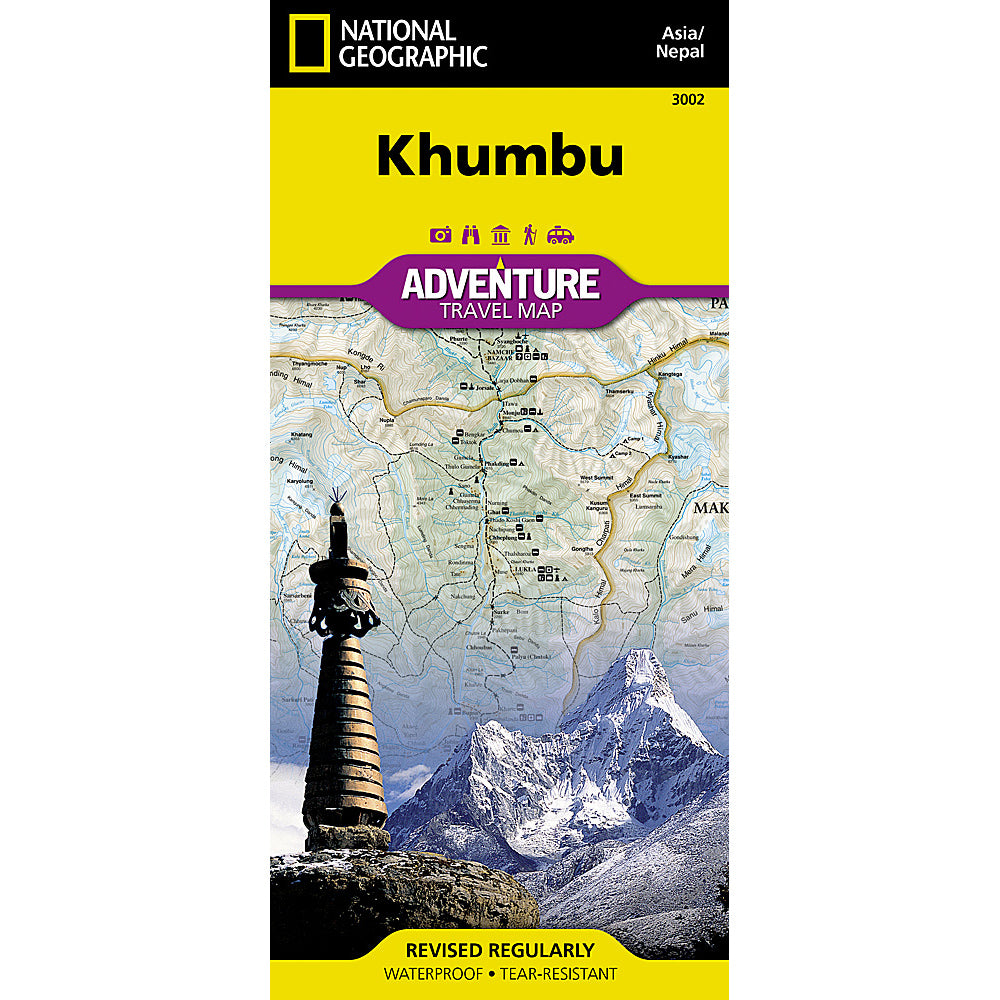 national geographic maps khumbu