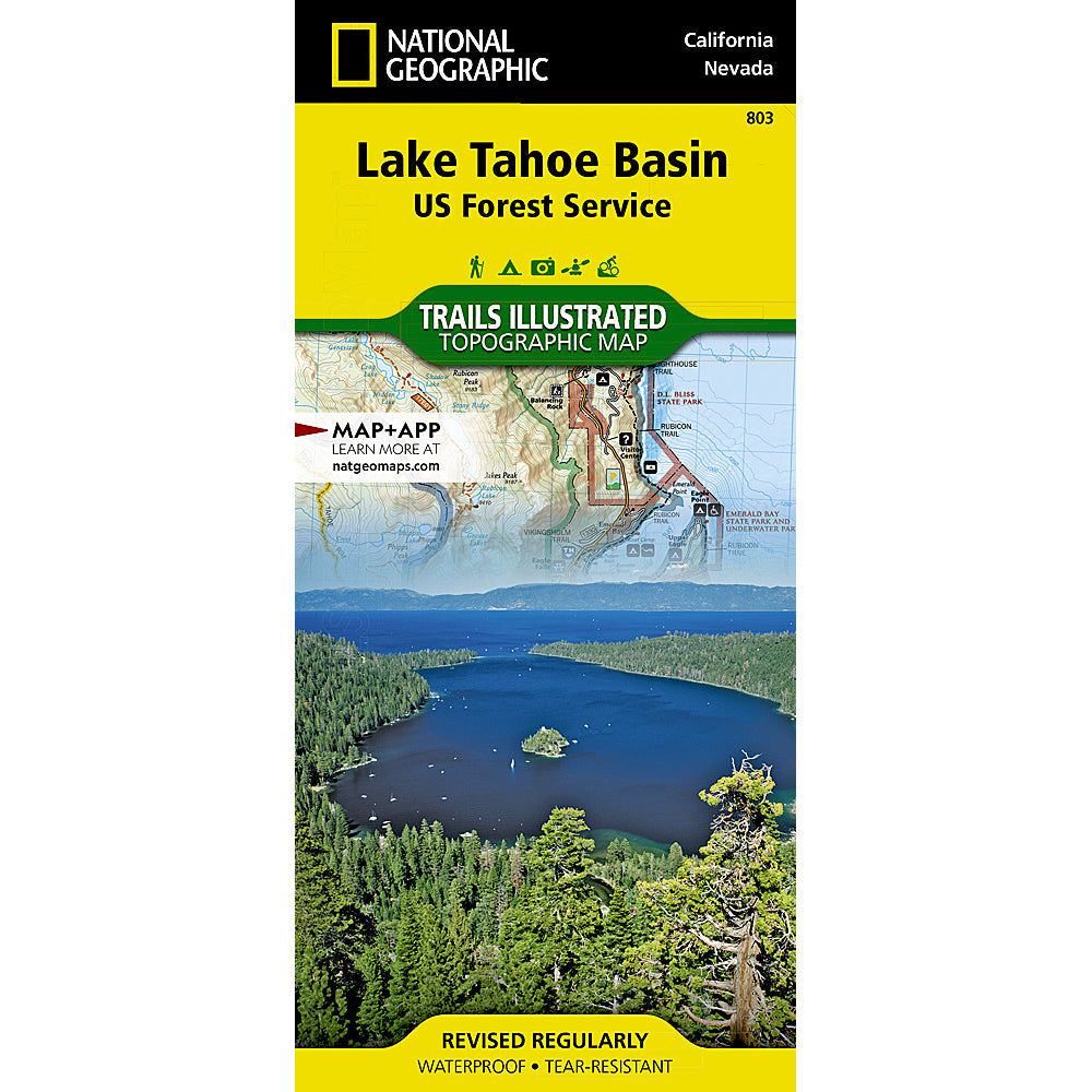 national geographic lake tahoe basin