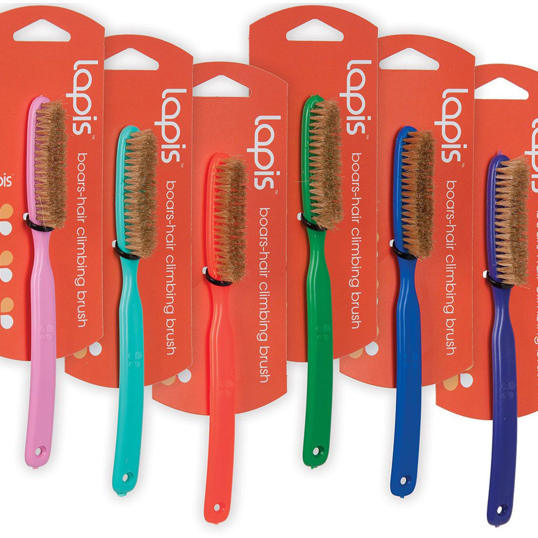 Lapis Boar's Hair Brush (Assorted Colors)