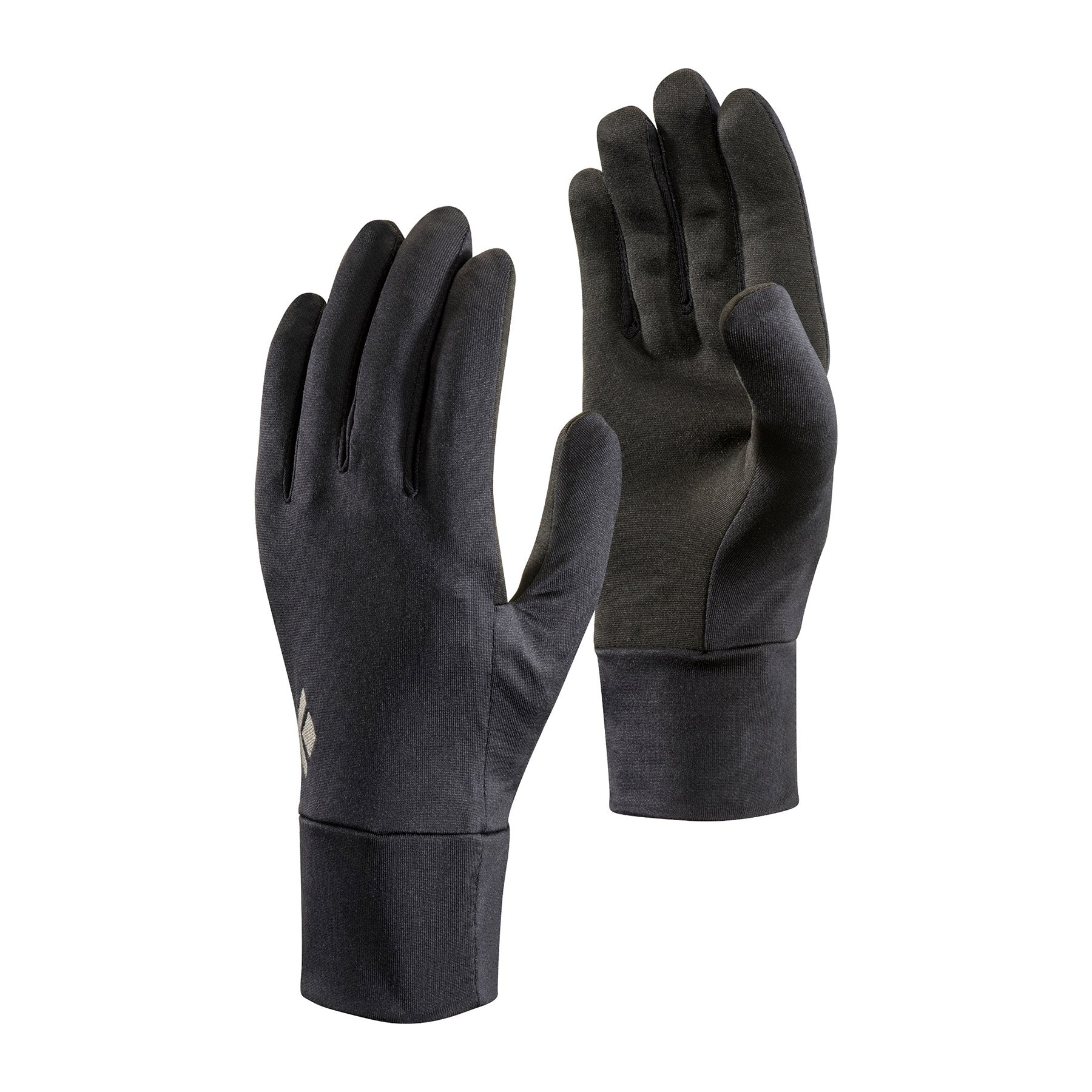 a lightweight pair of black gloves