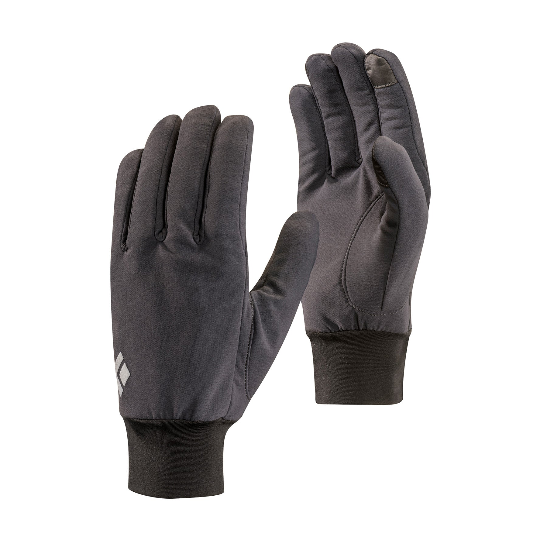 a pair of light softshell gloves