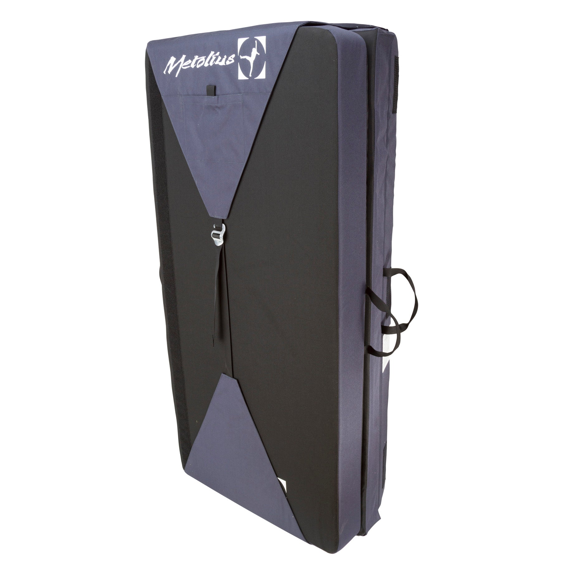 a photo of the metolius magnim crash pad, folded