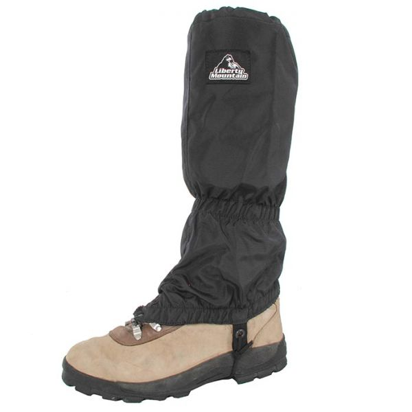 a liberty mountain gaiter on a boot