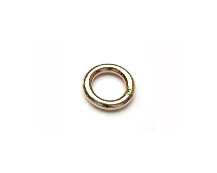 plated steel rappel ring