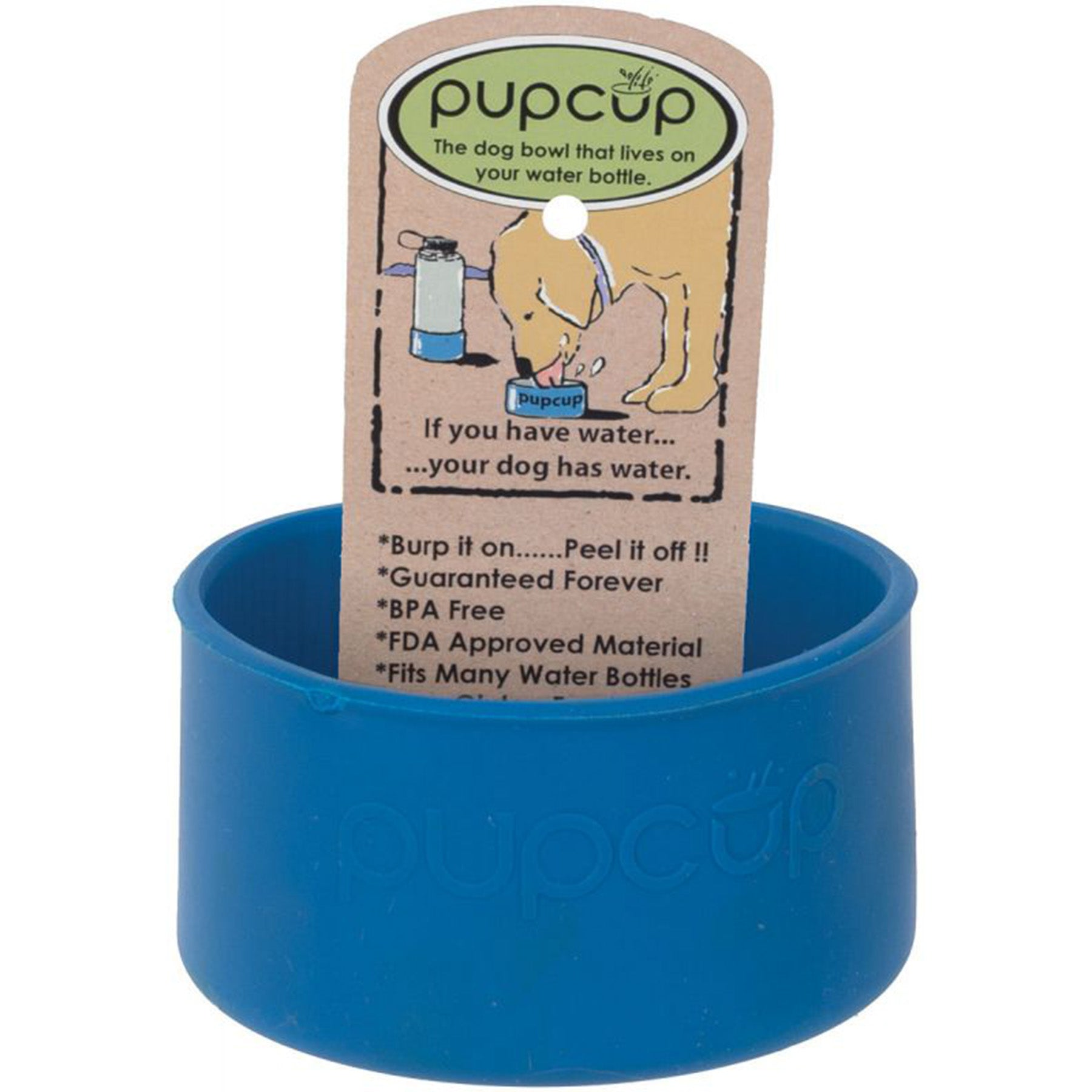 The blue pup cup