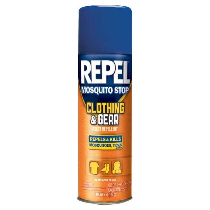repel clothing & gear spray, permethrin-based