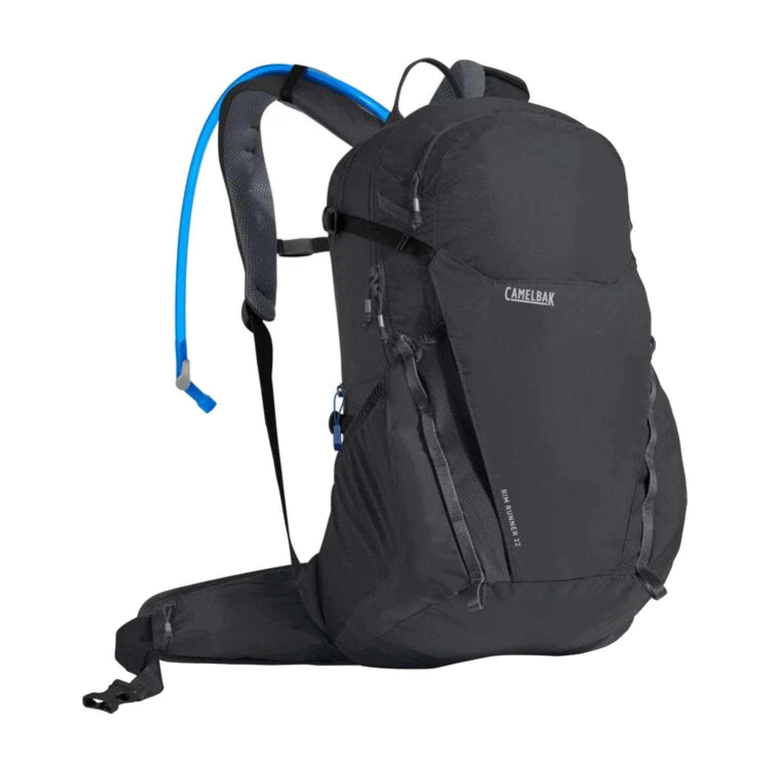 rim runner 22 85 oz hydration pack charcoal front view