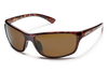 suncloud sentry tortoise with brown polarized lenses