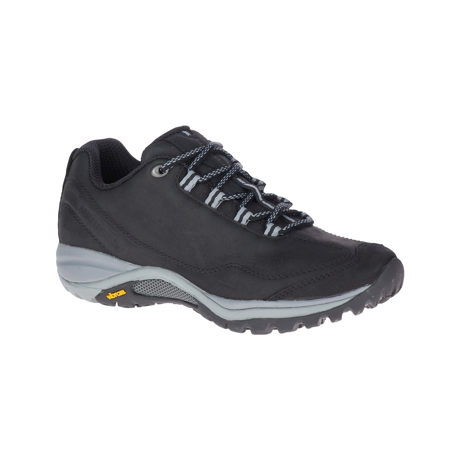 merrell siren traveller 3 womens hiking shoe black side view